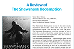 A Review of The Shawshank Redemption